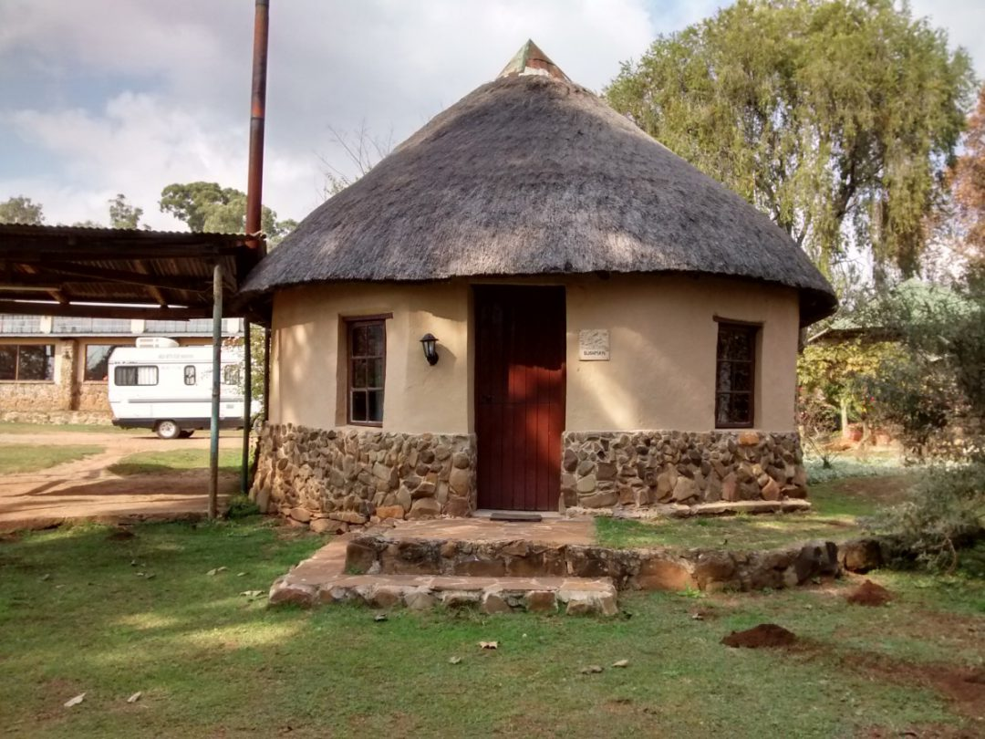 Thatched Garden-Facing Bungalow